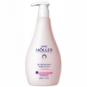 Anne Möller Makeup Remover Milk Face And Eyes for Dry skin 400 ml