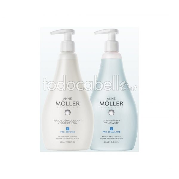 Anne Möller Cleasing Milk Face Gift Set  + Lotion