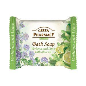 Green Pharmacy Bath Soap Verbena and Lime.