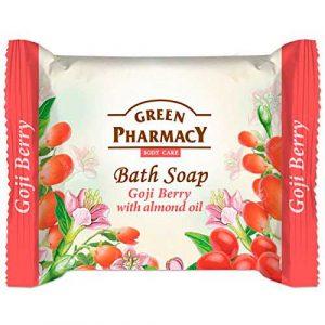 Green Pharmacy Bath Soap Goji Berry With Almond Oil.