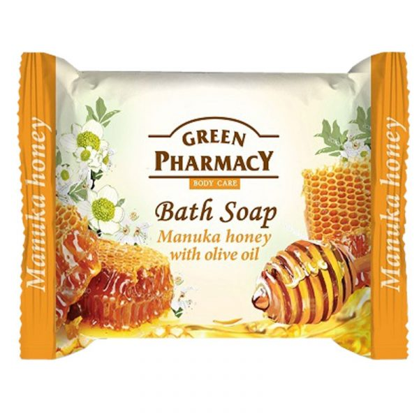 Green Pharmacy Bath Soap Manuka Honey With Olive Oil