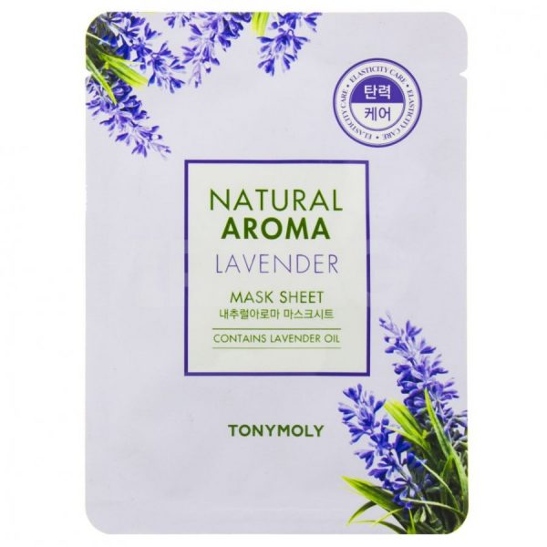 Tony Moly Natural Aroma Lavender Oil Mask 21gr