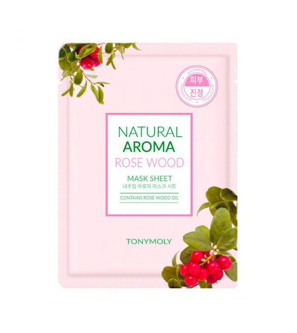 Tony Moly Natural Aroma Rosewood Oil Mask 21gr