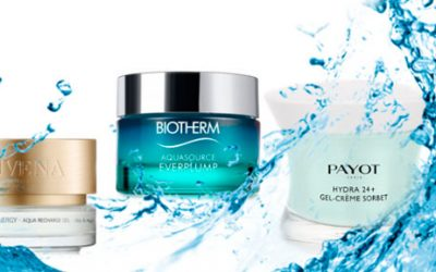 Is your skin thirsty? Discover the new sorbet textures.