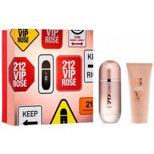 Carolina Herrera 212 Vip Rosé Eau de Parfum 50 ml Gift Set Body Lotion 75 ml