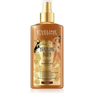 Eveline Brazilian Body Self-Tanning Mist Face and Body 5 in 1.