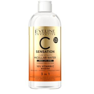Eveline C Sensation Pure Vitality 3 en 1 Agua Micelar